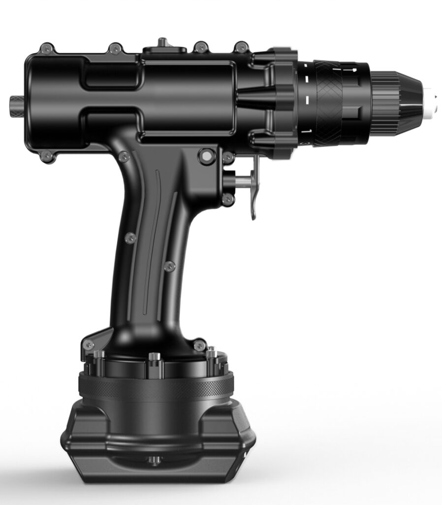 Nemo Special Ops Underwater Cordless Drill - Side View