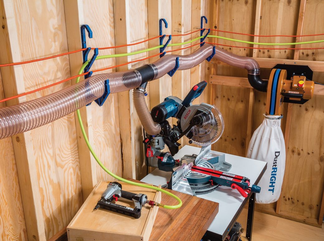 Better Hose Amp Cord Management The New Rockler Dust Right