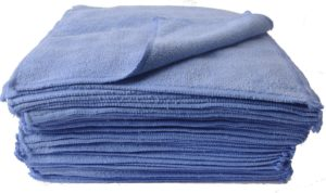 Eurow 350 GSM Microfiber Towels (50 PK)