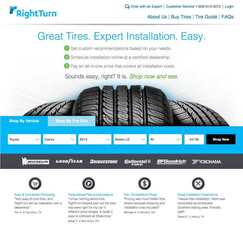 New Website Aims To Make Tire Shopping Easier