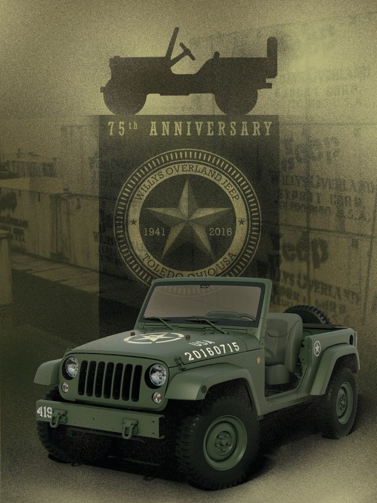 75th Concept Jeep
