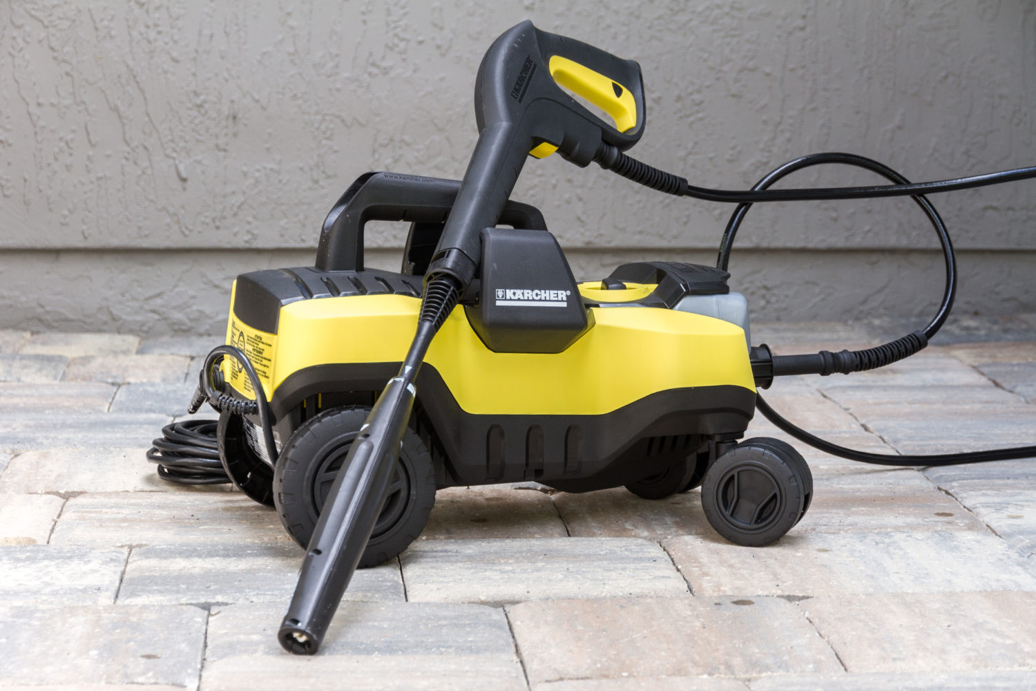 Hands On Karcher Quot Follow Me Quot Electric Pressure Washer