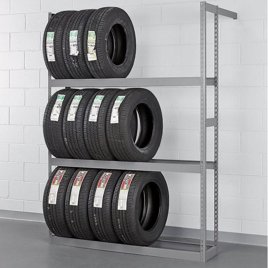 Tennsco Tire Rack