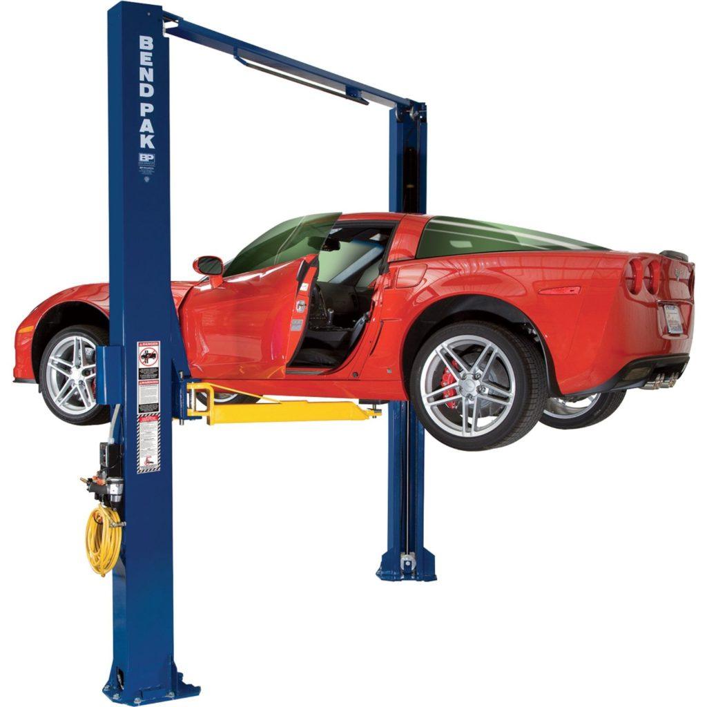 BendPak Asymmetric Two-Post Lift