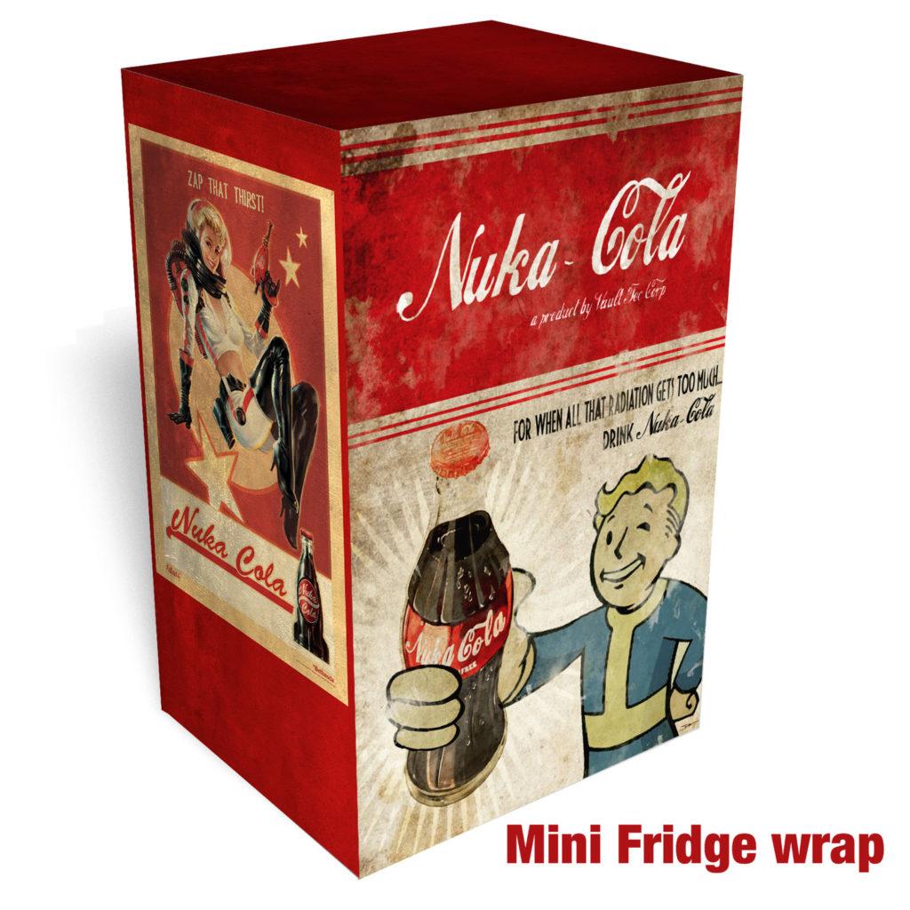 RM Wraps Mini-Fridge Wraps - Fallout