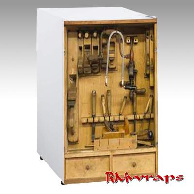 RM Wraps Mini-Fridge Wraps - Old Woodworking Tools