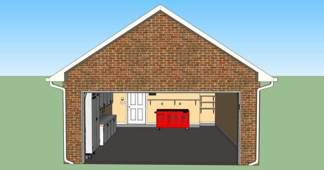 Design your garage layout or any other project in 3d for for Garage building designs