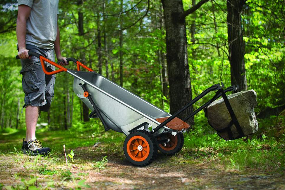 The 8 In 1 Multifunction Wheelbarrow Garagespot