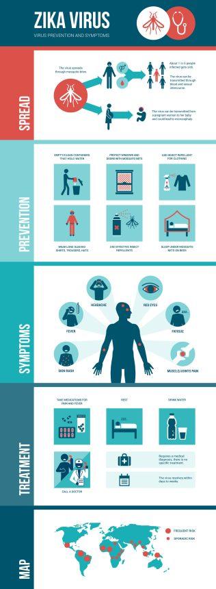 Zika Virus Infographic (2016)