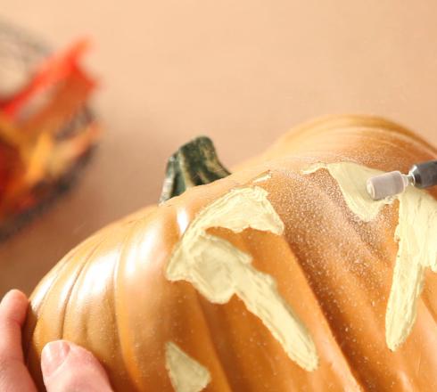 Dremel Pumpkin - Step One