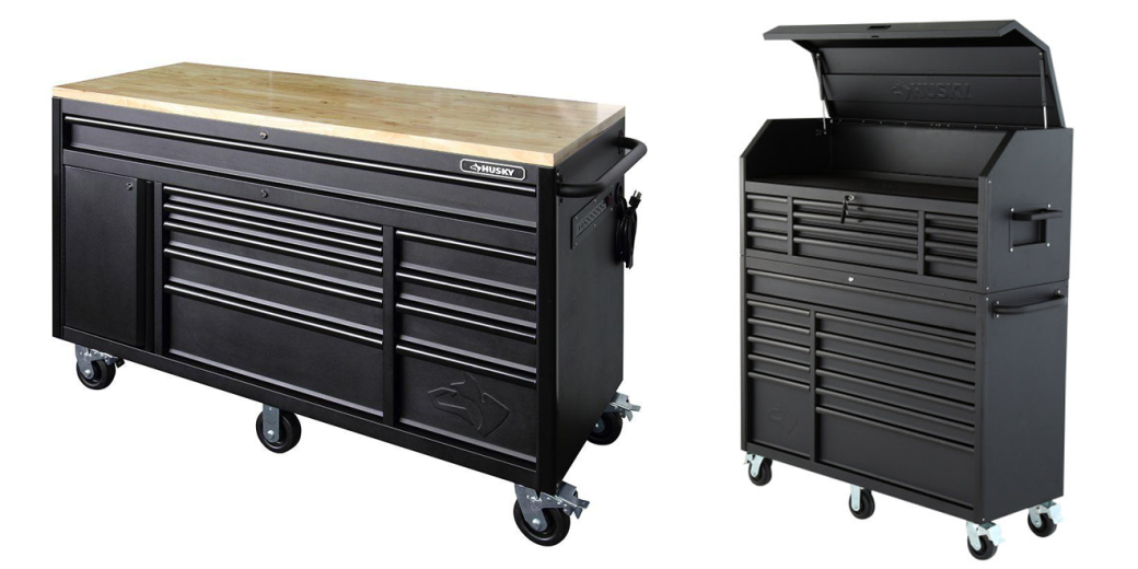 The New Husky Tool Chest Rolling Cabinet Amp Workbench