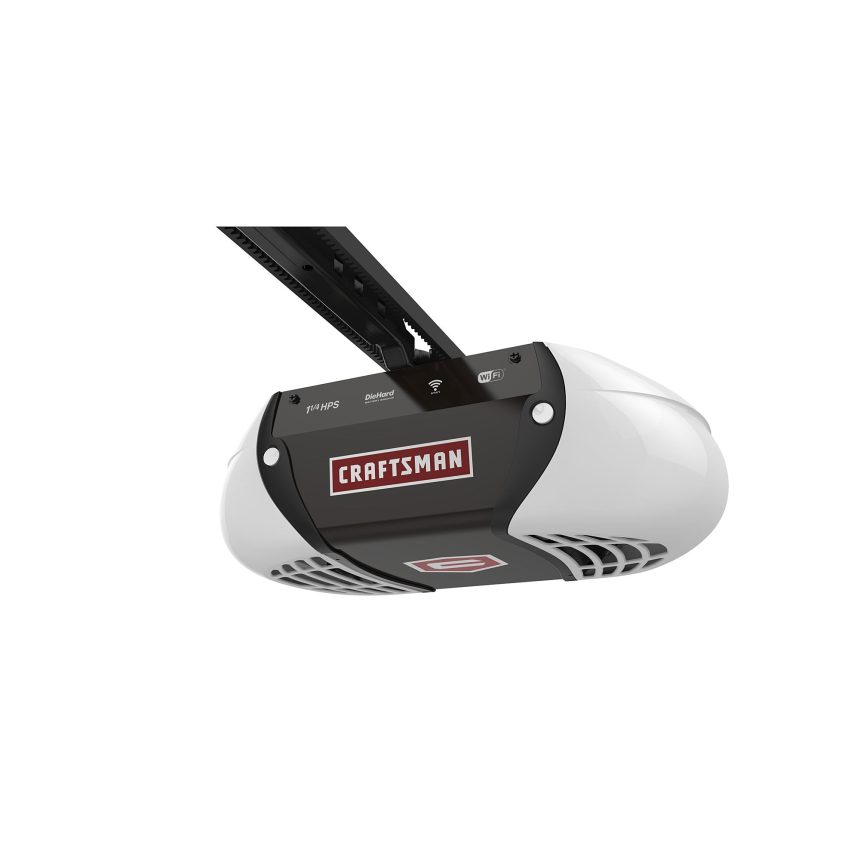 The New Craftsman Wi Fi Garage Door Opener Garagespot