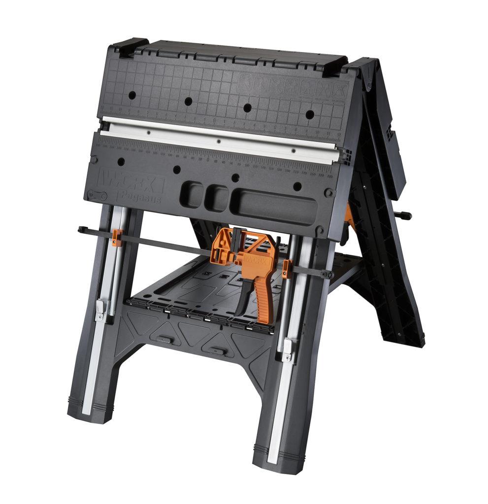 WORX Pegasus Portable Sawhorse & Work Table Combo - Sawhorse Mode