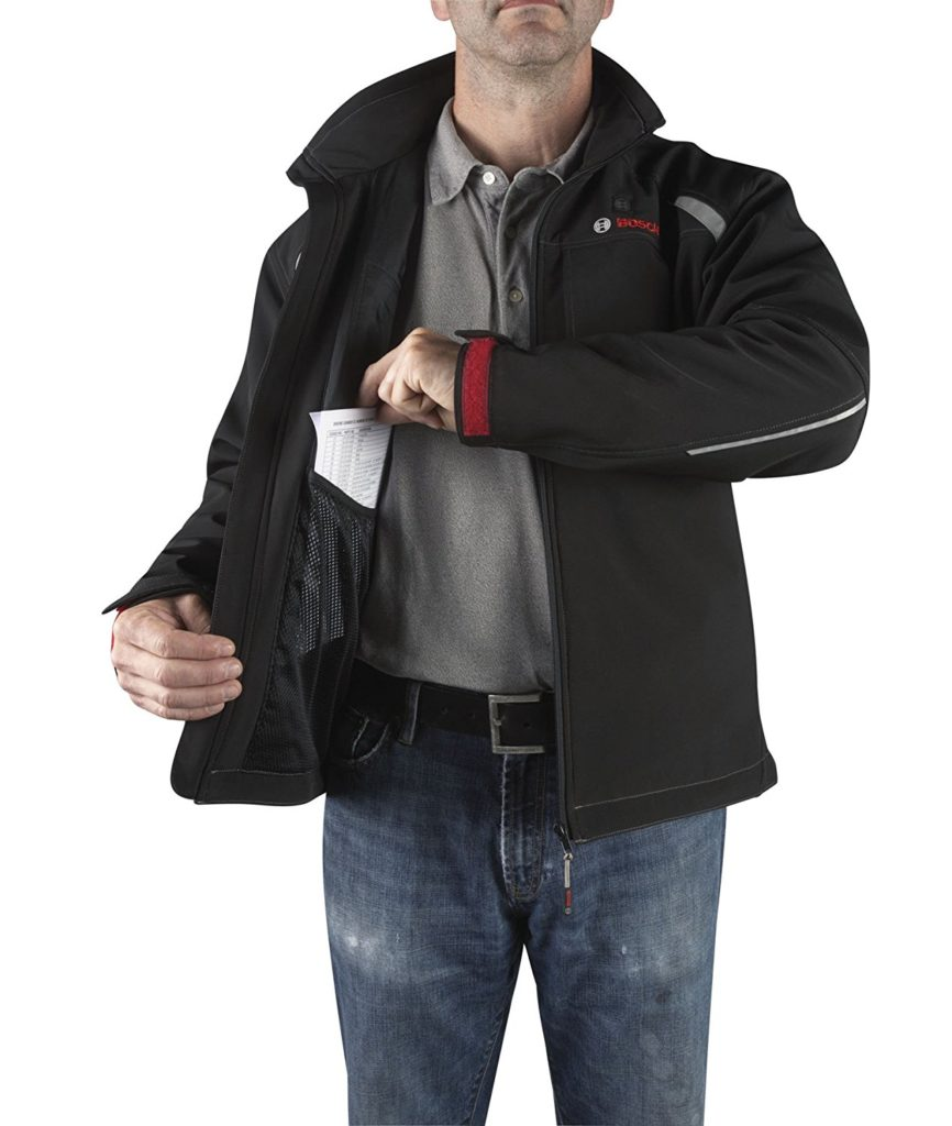 Bosch Heated Jacket - Pokets