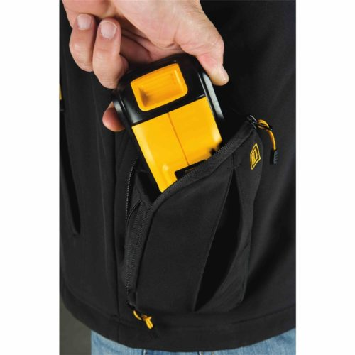 DEWALT Heated Jacket - Battery Pocket