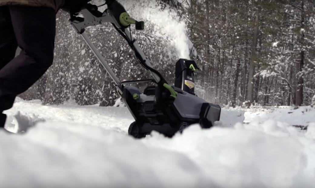 Powerful Cordless Snow Blowin' - GarageSpot