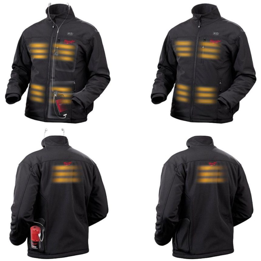 Milwaukee M12 Heated Jacket - Heat Zones