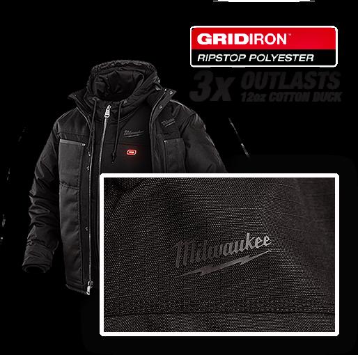 Milwaukee M12 Heated Jacket - GRIDIRON Ripstop