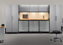 "New ""Mobile"" Garage Cabinets from NewAge"
