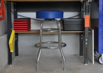 A Simple Garage Stool