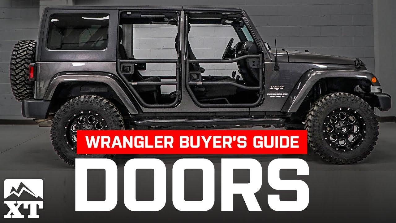 Jeep doors buying guide