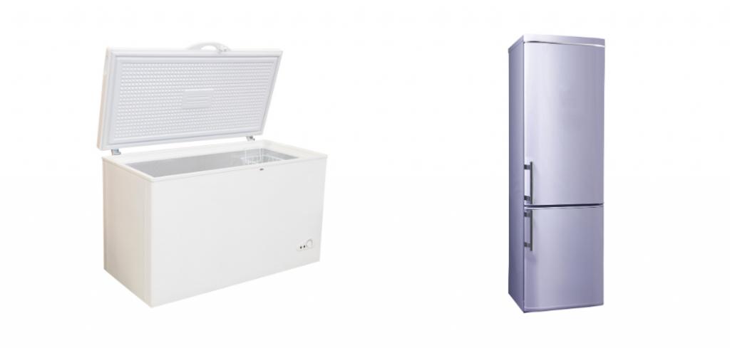 Chest And Upright Garage Freezer