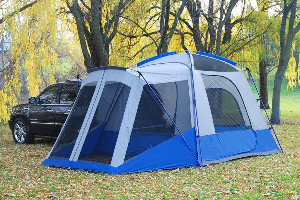 Napier Sportz SUV Tent - privacy flaps open