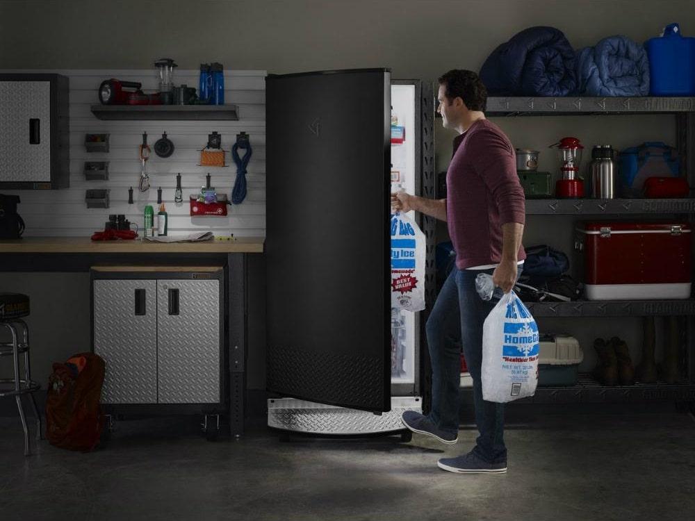 best upright freezer for garage