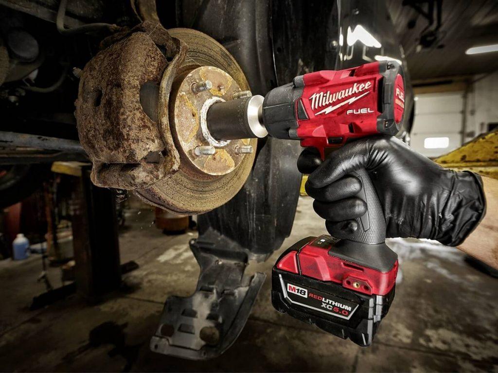 Milwaukee impact wrench