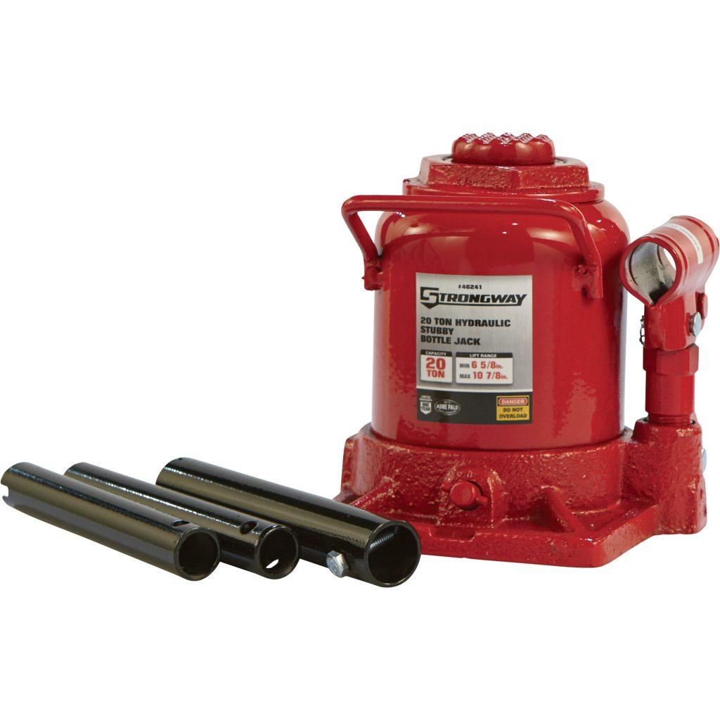 Strongway 46241 Hydraulic Stubby Bottle Jack